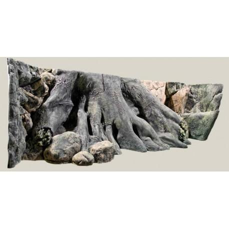 Pozadie do akvária Amazonas 200 x 60 cm