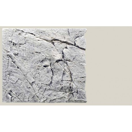Back to Nature pozadie do akvaria Slimline White Limestone 50A, 50 x 45 cm