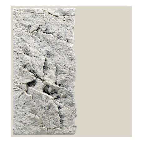 Back to Nature pozadie do akvaria Slimline White Limestone 50C, 20 x 45 cm