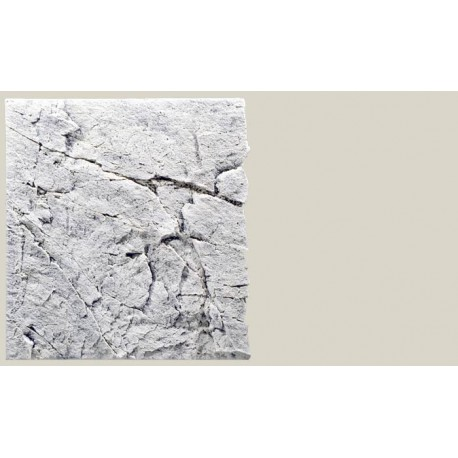 Back to Nature pozadie do akvaria Slimline White Limestone 60A, 50 x 55 cm