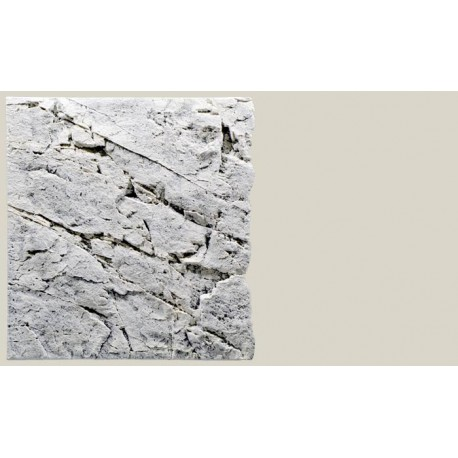 Back to Nature pozadie do akvaria Slimline White Limestone 60B, 50 x 55 cm