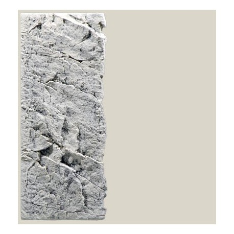Back to Nature pozadie do akvaria Slimline White Limestone 60C, 20 x 55 cm