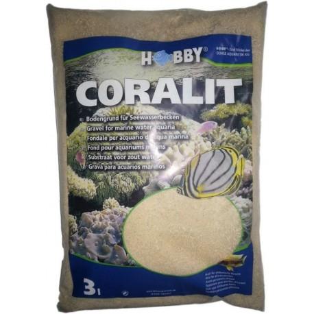 HOBBY Coralit 0-1mm 3l koralový piesok extra jemný