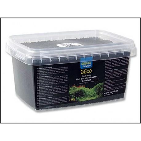Piesok AQUA EXCELENT čierný (1kg)