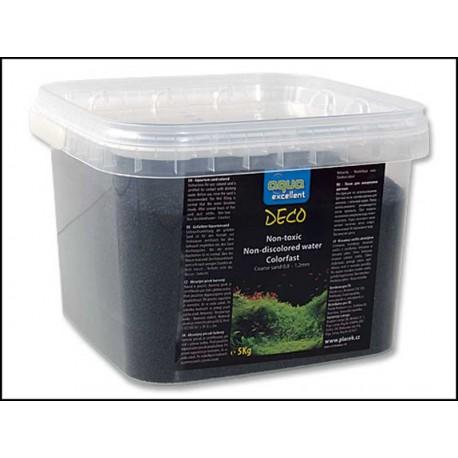 Piesok AQUA EXCELENT čierný (5kg)
