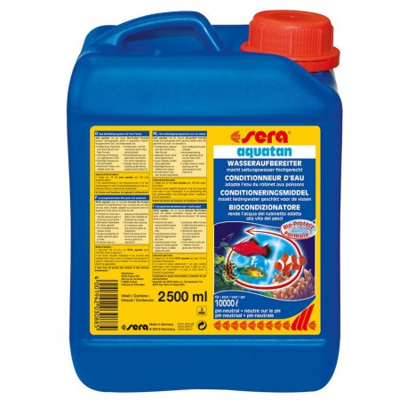 sera aquatan 2500ml na 10000L