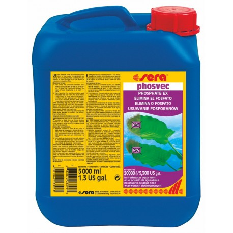 sera phosvec 5000 ml na 20000L