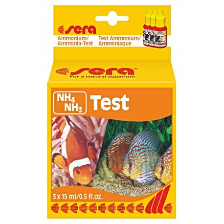 sera ammonium/ammonia - NH4/NH3 -Test