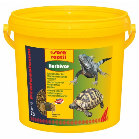 sera reptil Professional Herbivor 3800ml