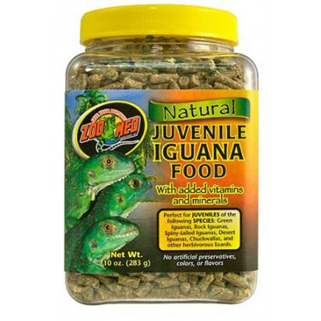 ZOOMED Natural Iguana Food Juvenile Formula