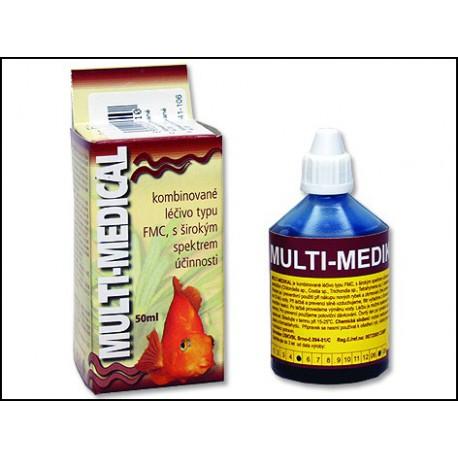 HU-BEN Multimedikal kombinované liečivo 50 ml