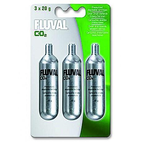 Fluval Mini CO2 náhradná fľaša-náplň 3x20 g