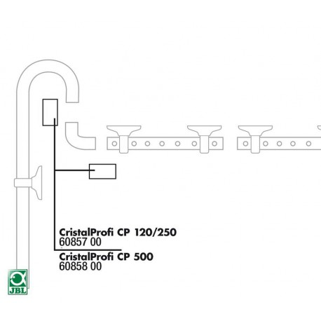 JBL tesnenie potrubia CP 500 16/22mm 2ks