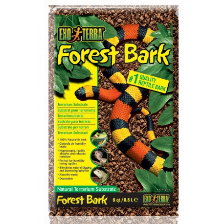 Exo Terra jedľová kôra - Forest Bark 8,8 l