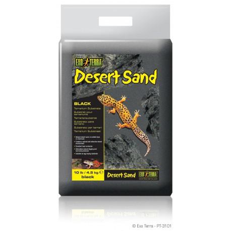 Exo Terra piesok čierny 4,5 kg