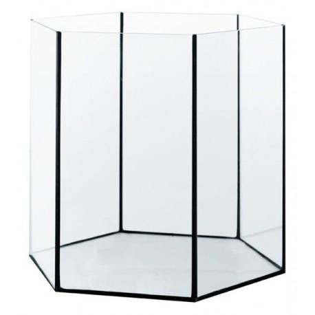 Diversa akvárium šesťhranné Hex 31 L / 35x35x35 cm