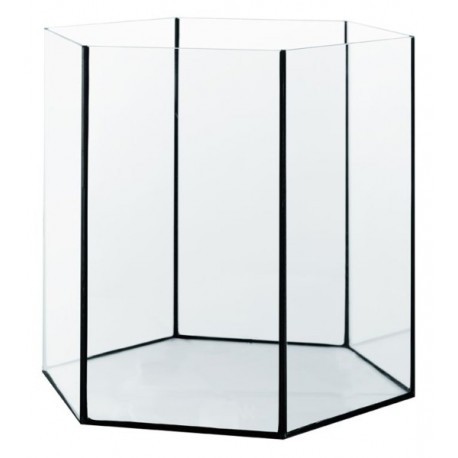 Diversa akvárium šesťhranné Hex 52,5 L / 42x42x40 cm