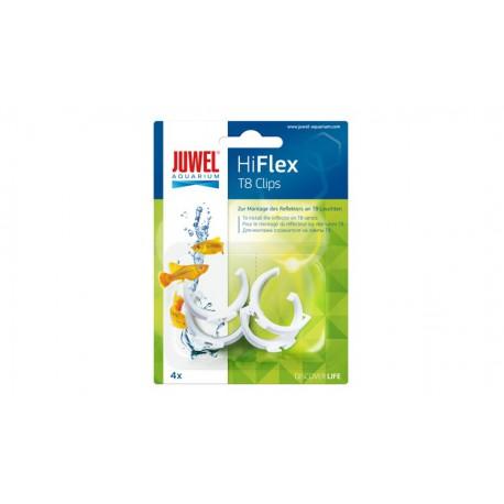 JUWEL HiFlex T8 Reflector Clips plast 4ks