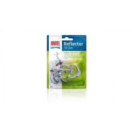 JUWEL HiLite T8 Reflector Clips plast 4ks