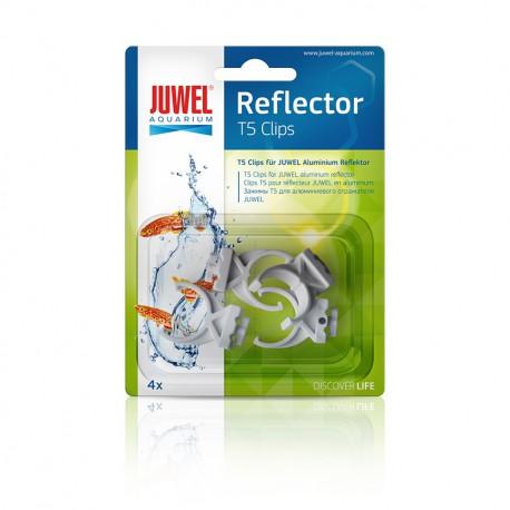 JUWEL HiLite T5 Reflector Clips plast 4ks