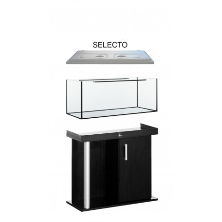 Diversa Comfort 100 rovný 200 l akváriový komplet / plastový kryt