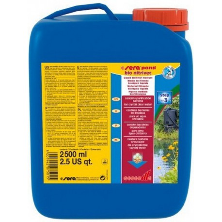 Sera Pond Bio Nitrivec 2500 ml