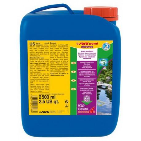 Sera Pond Phosvec 2500 ml
