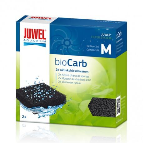 Juwel bioCarb M (Bioflow 3.0, Compact) aktívne uhlie špongia 2ks