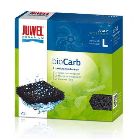 Juwel bioCarb L (Bioflow 6.0, Standard) aktívne uhlie špongia 2ks