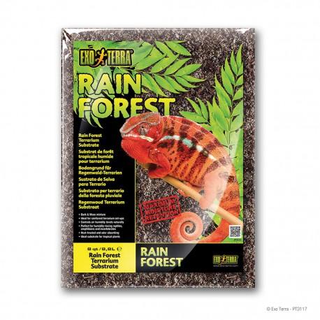 Exo Terra Rain Forest podstielka 8,8 l kôra + mach