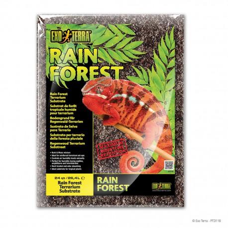 Exo Terra Rain Forest podstielka 26,4 l kôra + mach