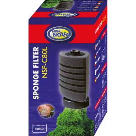 Aqua Nova NSF-C80L Sponge Corner filter