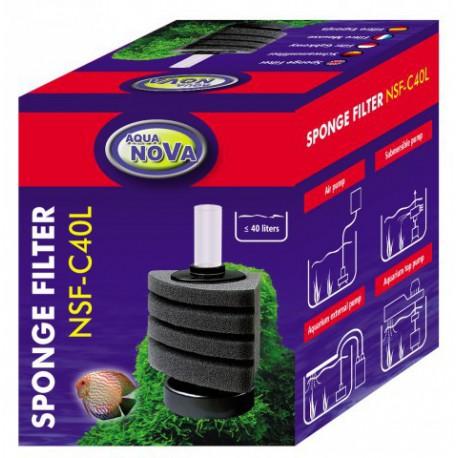 Aqua Nova NSF-C40L Sponge Corner filter