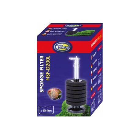 Aqua Nova NSF-D200L Sponge filter
