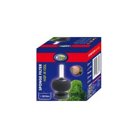 Aqua Nova NSF-R100L Sponge filter round