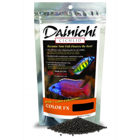 Dainichi Cichlid Color FX Sinking baby 250g