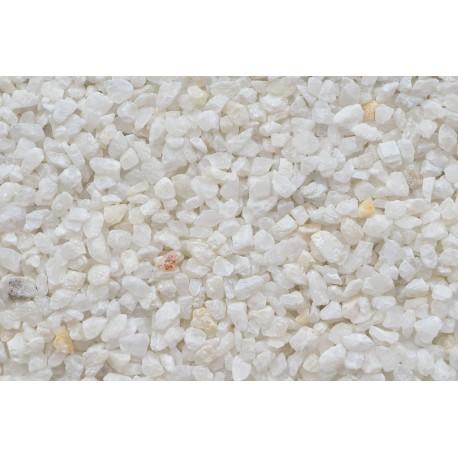 Color Sand prírodná biela mramorová drť 1-1,5 mm / 20kg