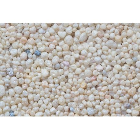 Color Sand biely farbený kremičitý piesok 0,5-1,4mm / 2kg