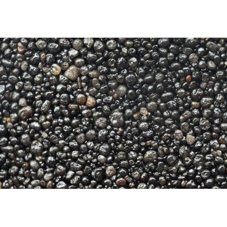 Color Sand čierny farbený kremičitý piesok 0,5-1,4mm / 2kg