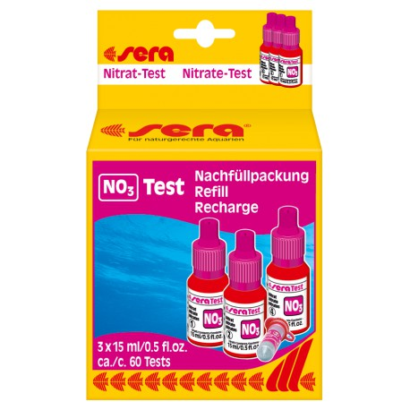 sera nitrate-Test (NO3) refill pack