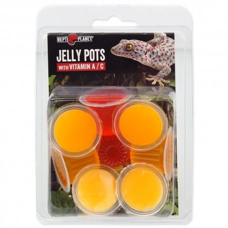 Repti Planet Jelly Pots Fruit 8ks