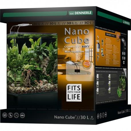 DENNERLE Akvárium NanoCube Complete+ Soil 30 l