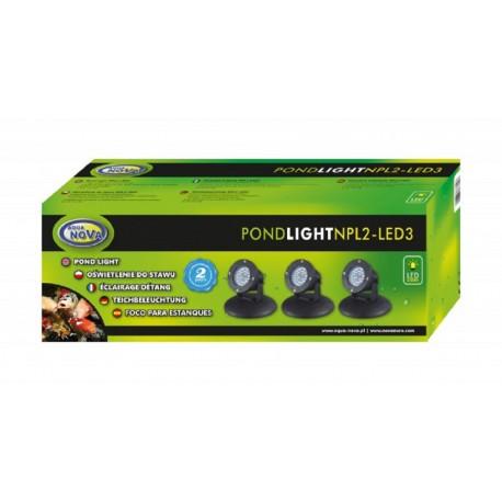 Aqua Nova Osvetlenie do jazierka NPL2-LED3