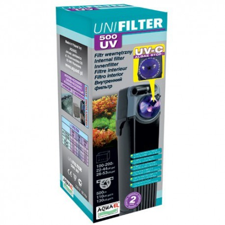 AQUAEL Unifilter 500 s UV-C