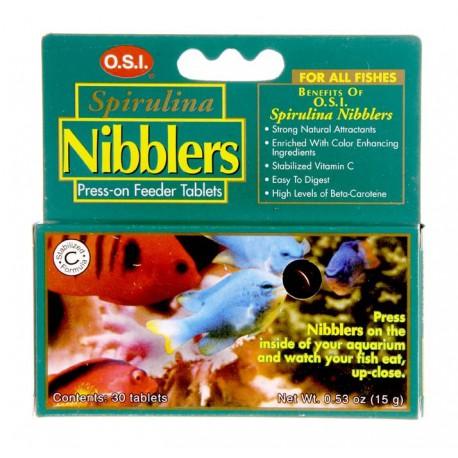 O.S.I. SPIRULINA NIBBLERS TABLETS 15 G