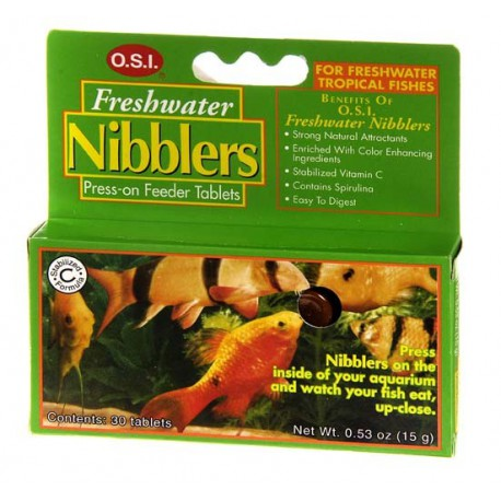 O.S.I. FRESHWATER NIBBLERS TABLETS 15 G