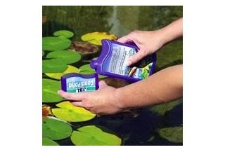 Prípravky na úpravu vody v jazierku