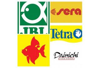 Krmivá filtrované podľa značiek /TETRA, SERA, DAINICHI, TROPICAL.../