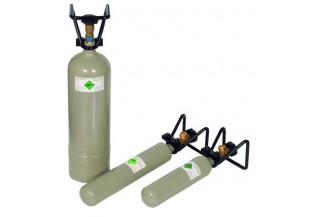 CO2 fľaše