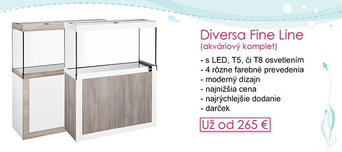 Diversa Fine Line akváriové komp